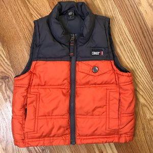 Boys 18 months reversible puffer vest